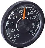 hr-imotion 10010001 Innen-Thermometer 'Slim' für Auto, Heim, Camping, uvm. [ selbstklebend | Made in Germany - 20° C - + 60° C]