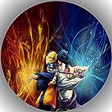 Fondant Tortenaufleger Tortenbild Geburtstag Naruto T12