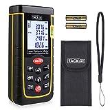 Laser Entfernungsmesser Tacklife A-LDM01 40 Advanced Distanzmessgerät (Messbreich: 0,05~50m/±2mm) mit M/In/Ft, Größeres LCD Display, bis zu 11 Messmodi, IP54, in Schutztasche