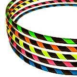 Hula Hoop Reifen für Anfänger, Ø100cm, Neon-Pink