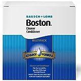Bausch und Lomb Boston Advance Multipack: 3 x 30 ml Linsenreiniger, 3 x 120 ml Aufbewahrungsflüssigkeit und Behälter