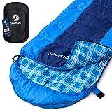 Deckenschlafsack für Outdoor und Camping, kompakt und warm - Frühling und Sommer Schlafsack für Trekking, extrem bis 5 °C, Survival Sleeping Bag, 220x75 cm