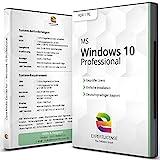 Windows 10 Professional - ExpertLicense 32/64 bit ISO DVD + Lizenz Key per E-Mail - inkl. aller aktuellen Updates - Deutsch