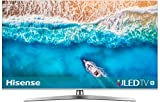 Hisense H55U7B 138 cm (55 Zoll) Fernseher (4K Ultra HD, HDR, Dolby Vision, Triple Tuner, Smart-TV, USB-Aufnahmefunktion) [Modelljahr 2019]