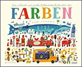 Der schönste und größte Bildwörterkalender der Farben 2021 – Von Tom Schamp – DUMONT Kinder-Kalender – Querformat 52 x 42,5 cm – Spiralbindung