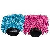 Mikrofaser Handschuh   Waschhandschuh Auto Mikro   Ideal als Autoschwamm lackschonend und Staubbürste   Alternative zur Felgenbürste Microfaser