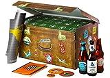 Adventskalender mit Bier   World Wide Beers   24 Flaschen internationale Biere aus aller Welt als Geschenkbox (24x0,33l)   Geschenkidee für Männer   Probierpaket   Geburtstag   Weihnachten