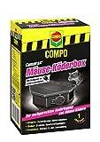 COMPO Cumarax Mäuse-Köderbox, Zur Ausbringung von Mäuse-Ködern, Kunststoff, Schwarz