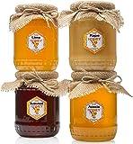 Rohhonig   4 kg   Limetten-Buchweizen-Akazien-Rapshonig in Glasbehältern   absolut rein, roh, natürlich, unverpasteurisiert   frisch   hergestellt von Bees