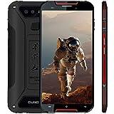 Outdoor Smartphone 4G LTE CUBOT Quest Lite (Ultra Dünn) IP68 OTA Android 9.0 Dual Nano SIM 3000mAh 3GB RAM+32GB ROM Kamera 13MP+8MP 15.2cm 5' HD Display (720x1280) Wasserdicht Staubdicht Stoßfest -Rot