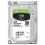 Seagate Barracuda ST3000DM007 Interne Festplatte fur Desktop PC, NAS (8,9 cm 3,5 Zoll, 256MB Cache, 5400RPM, SATA-III 6Gb/s) Kapazitat:3.000GB (3TB) (Generalüberholt)