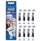 Oral-B Kids Disney Frozen 2 Aufsteckbürsten für Kinder ab 3 Jahren, in briefkastenfähiger Verpackung, 8 Stück