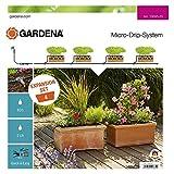Gardena Erweiterungsset Pflanztröge: Das Balkon-Bewässerungssystem erweitert Ihre Micro-Drip-Start Sets Pflanztöpfe M um 4 Pflanztröge (13006-20)