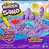 Kinetic Sand 6024397 - Sandbox mit 454 g Kinetic Sand, unterschiedliche Varianten