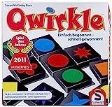 Schmidt Spiele 49311 Qwirkle, Spiel des Jahres 2011, Familienspiel, FFP Artikel
