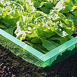 EXCOLO 8 m Schnecken-Barriere Schnecken-Schutz Schnecken-sperre Schnecken-stopp für Salat Beet und Gemüse Beete