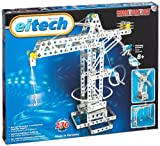 Eitech 00005 00005-Metallbaukasten-Kran/Hebebrücke/Windmühle Set, 270-teilig
