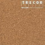 Korkboden TRECOR Korkfertigparkett 'PORTO' mit Klicksystem | Oberfläche: Keramiklackierung | Stärke: 10,5 mm - 3 mm Nutzschicht - Format: 905 x 295 mm - Sie kaufen 1 m² (Korkboden 'PORTO')