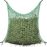 UnfadeMemory Heunetze Heunetztasche Quadratisch 100% PP Heunetz Grün Maschenweite 45 x 45 mm Wetterbeständig (1pcs 0,9 x 2 m)