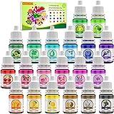 Seifenfarbe Set 20er x 6ml - Flüssig Seifenfarben Färbende Hautverträgliche Farbe Pigment für die Seifenherstellung - Regenbogen Flüssigseife für DIY Badebomben, Seifen Machen, Schleim, Kunsthandwerk