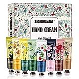 Handcremes Set,Mini Hand Creams,Plant Fragrance Handcreme Feuchtigkeitsspendend für raue, rissige Hände, Feuchtigkeitscreme Pflegecreme,Ideale Geschenkidee für Frauen und Männer