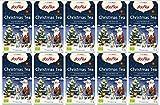 10 x Christmas Tee YOGI TEA BIO Christmas Tea (=10er Pack) | Gewürztee