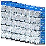 CR 2450 40er Votivkerzen,CR2450 Batterien 3V Lithium-Knopfzelle,Teelichter, Video, Computer, Rechner, IC-Karten, elektrische Produkte