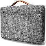 tomtoc Laptoptasche Hülle Laptop Tasche kompatibel mit 15 Zoll Neu MacBook Pro A1990 A1707 | 14 Zoll Laptops ThinkPad X1 Carbon HP Acer Chromebook wasserdicht Notebook Sleeve Laptophülle Schutzhülle