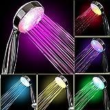 Tonskooners InteTech LED-Leuchte für Duschen, 7 Farben, Mehrfarbig, universell passend