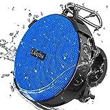 Olafus Bluetooth Lautsprecher Fahrrad, Bluetooth Lautsprecher 5.0, IPX7 Wasserdicht Duschlautsprecher, Tragbar Speaker Kabelloser Musikbox mit Freisprechenfunktion, 10H Spielzeit