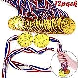 Gewinner Medaillen Gold,Goldmedaillen für Kinder,Medaillen Kindergeburtstag,Medaillen Metall,Gold Medaillen Kinder,Kinder Medaille,Medaillen Fussball,für Kinder Sport Party, Wettbewerb, Preise