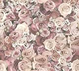 A.S. Création Vliestapete Urban Flowers Tapete floral 10,05 m x 0,53 m creme Made in Germany 327222 32722-2