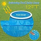 Bumplebee Solarplane Pool Rund, Folie für Poolerwärmung, Dick und Stabil Solarfolie Cover für Runde Pools, Poolplane Solarabdeckplane Poolheizplane Rund (365cm)