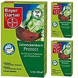 3 x 750 g Bayer Schneckenkorn Protect Schneckenmittel
