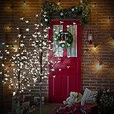 CCLIFE LED Kirschblütenbaum Baum Blütenbaum weihnachtsbaum warmweiß kaltweiß ihnen außen Lichterdeko LED-weihnachtsbaum, Farbe:Kaltweiß, Größe:150cm