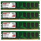 Komputerbay DIMM Speichermodule (8 GBà 4x 2GB, 240 Pin, 800MHz, PC2 6400/6300 DDR2)