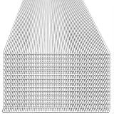 Rotfuchs® Hohlkammerplatten 15 Stück Set | 4mm Stegplatten | Polycarbonat (PC) | Ersatzteile für Gewächshaus | Doppelseitig UV-Beschichtet | 700g/m² | 1210 x 605 mm | 10,98 m²