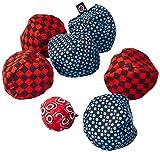 Zoch 601131400 Crossboule c³ Set Downtown, der ultimative Boule Spaß mit flexiblen Bällen für drinnen und draußen, ab 6 Jahren