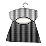 York Wäscheklammernbeutel, Gewebe (60% Baumwolle, 40% Polyester), galvanisierter Stahl, Pepita, One Size