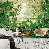 1art1 40566 Pflanzen - Wintergarten 8-teilig, Fototapete Poster-Tapete (368 x 254 cm)