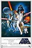 Star Wars - Orange Sword of Darth Vader - Filmposter Kino Movie Science Fiction Sci Fi - Grösse 61x91,5 cm + 1 Ü-Poster der Grösse 61x91,5cm