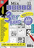 Mix-Logik 3er-Band Nr. 11 (Mix Logik 3er-Band / Logik-Rätsel)