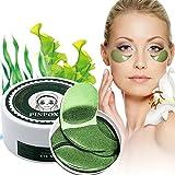 Eye Mask, Augenpads, Anti Aging Pads, Collagen Maske, Augenpflege mit Hyaluron, Feuchtigkeit Spendende, Entfernen Taschen, Dunkle Kreise & Puffiness, 60pcs