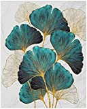 JHCT (30x40cm 5D DIY Square Diamond Painting Full Drill Ginkgo Biloba Farbe von Diamonds Quadratisch für Erwachsene Kreuzstich Kit Diamant Malerei Diamond Art Kits Family Rhinestone kristall Bilder