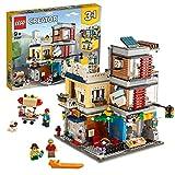 LEGO 31097 - Creator 3-in-1-Set Stadthaus mit Zoohandlung & Café