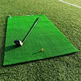 FORB Academy Golf Übungsmatte – Golf Matte zusammenrollen – Golf Tees enthalten   Golf Abschlagmatte   Rasen Matte   Abschlagmatte Golf - Net World Sports - perfekt für die Driving Range