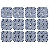 12 axion Elektroden-Pads 45x45mm - passt zu EMS- & TENS-Geräten von Sanitas & Beurer