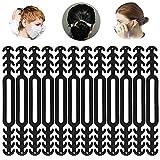 ZesNice 12PCS Maske Extender, Maskenhaken Anti-Tightening Ohrhaken Ohrhaken für Maske Ohr Protector Haken Ohrriemen Zubehör Ohrverlängerungsmaske Schnalle Ohrenschmerzen gelindert