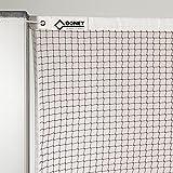 DONET Badminton-Trainingsnetz, Nylon 1,0 mm stark, rot