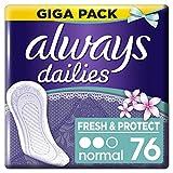 Always Fresh & Protect Slipeinlagen Normal Fresh 76Stück